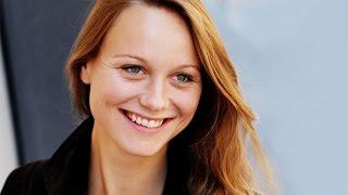 Mit Anna Unterberger kann man Büffel stehlen