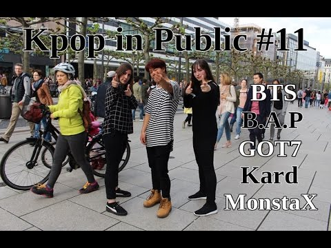 Kpop in Public #11 feat. fengyi (BTS, Kard, MonstaX, Got7, B.A.P)