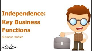 √ Interdependence with other key business functions | iitutor