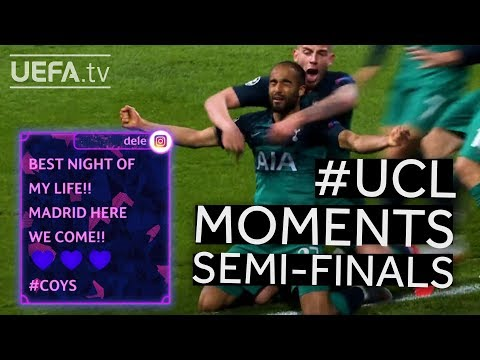 #UCL Semi-finals BEST MOMENTS: TOTTENHAM & LIVERPOOL make it to the final!!
