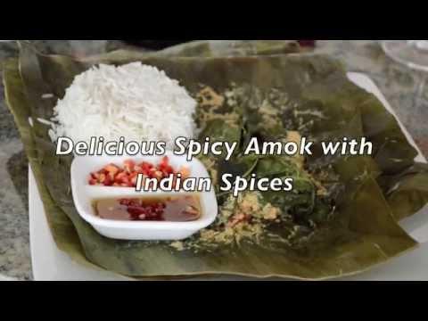 Spicy Chicken Amok Fusion Recipe