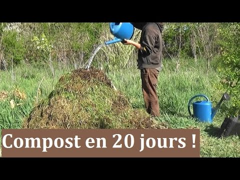 comment faire un compost en 20 jours youtube. Black Bedroom Furniture Sets. Home Design Ideas