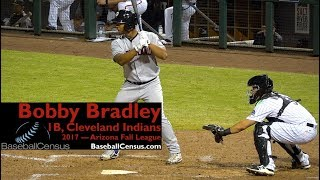 Bobby Bradley, 1B, Cleveland indians — 2017 Arizona Fall League