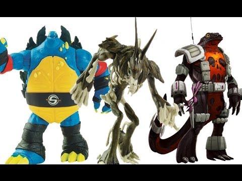 TMNT Toy Haul-(Slash,Rahzar,&More)