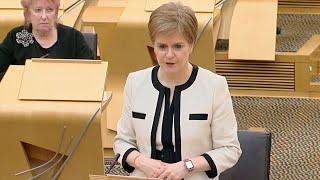 video: Politics latest news: Government exams plan a good 'compromise,' Boris Johnson says - watch Nicola Sturgeon live