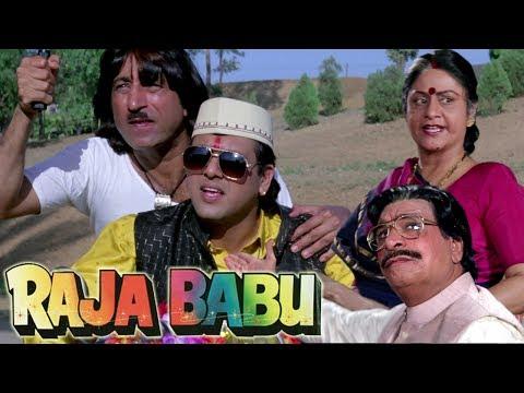 Govinda's Swag in Raja Babu Style | Govinda, Shakti Kapoor | 4K Video | Part 1 - Raja Babu