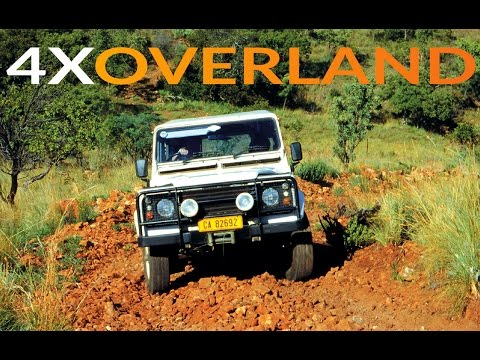 Driving steep climbs, designing roof-racks, expedition learning. 4WD1, Ep4