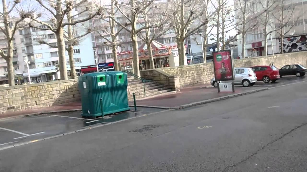 Centre ville limoges le dimanche matin youtube for Piscine limoges