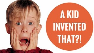 10 Inventions Made By Kids!