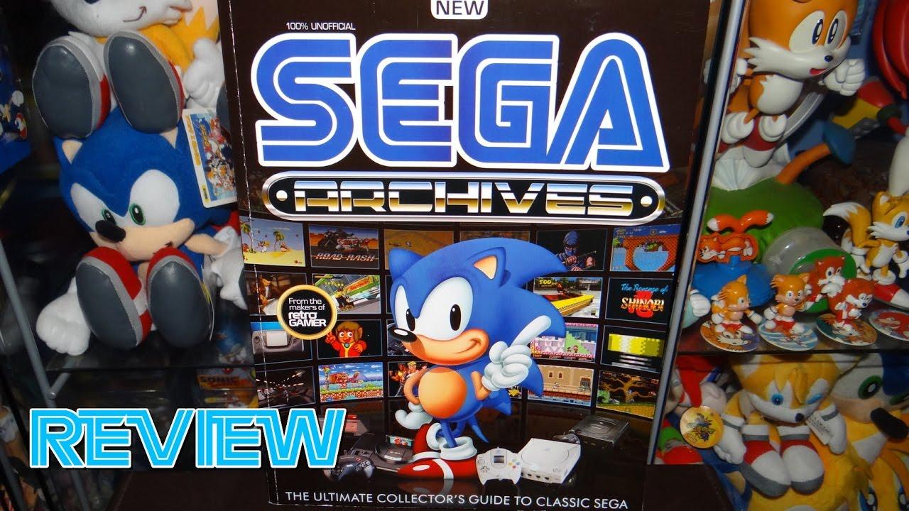 SEGA Archives Collectors Guide to Classic SEGA Magazine Review