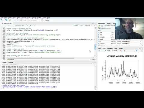 Volatility Modeling: GARCH Processes In R