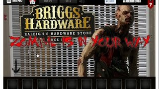 Zombie Mall walkthrough Crazy Escape Games.