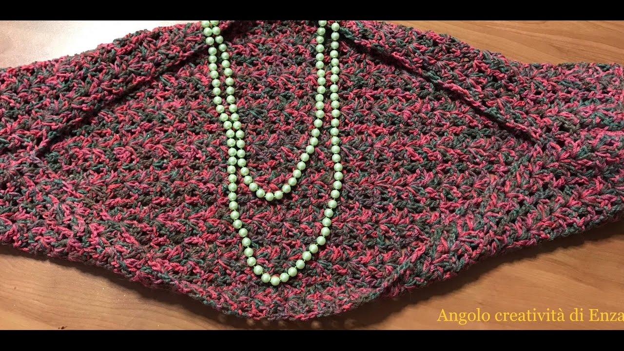 Coprispalle Estivo Facilissimo Alluncinettoshoulder Cover Crochet