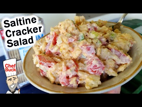 Saltine Cracker Salad From The South