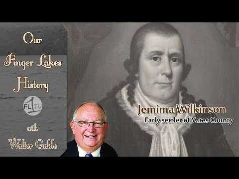 Jemima Wilkinson, early settler of Yates County  .::. Our Finger Lakes History 1/11/18