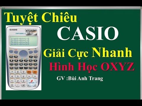 CASIO FX 570VN PLUS GIẢI NHANH TRẮC NGHIỆM OXYZ P3