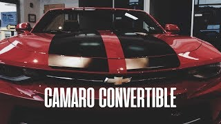 WALKAROUND!! Camaro RS CONVERTIBLE