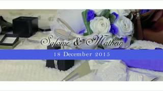 Sally & Mathew's wedding 2016