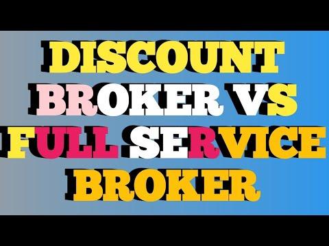 DISCOUNT BROKER VS FULL SERVICE BROKER || stock brokers|| brokerage|| share market broker company