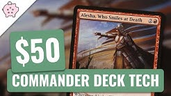 Alesha, Who Smiles at Death | EDH Budget Deck Tech $50 | Aristocrats | MTG | Commander