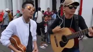 Video Tegar feat Ariv Kotu nyanyi lagu Firman Kehilangan di halaman Museum Sejarah Jakarta download MP3, 3GP, MP4, WEBM, AVI, FLV September 2017