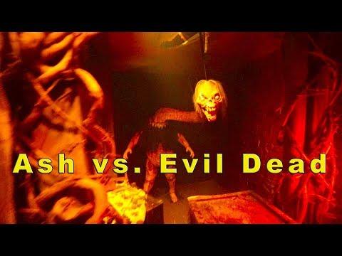 Ash vs. Evil Dead - Halloween Horror Nights 2017 (Universal Studios Hollywood, CA)