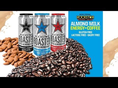 DrinkTank Rockstar Roasted with Almond Milk Caffe Latte