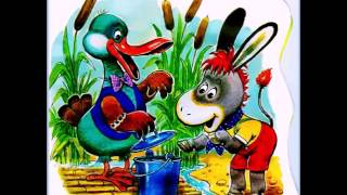 как ослик счастье искал.Аудиосказка с картинками./How The Donkey Searched For Happiness
