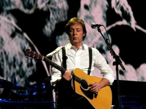 Blackbird- Paul McCartney at Radio City Music hall