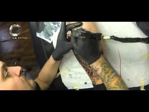 Making off Wiz Khalifa Tattoo