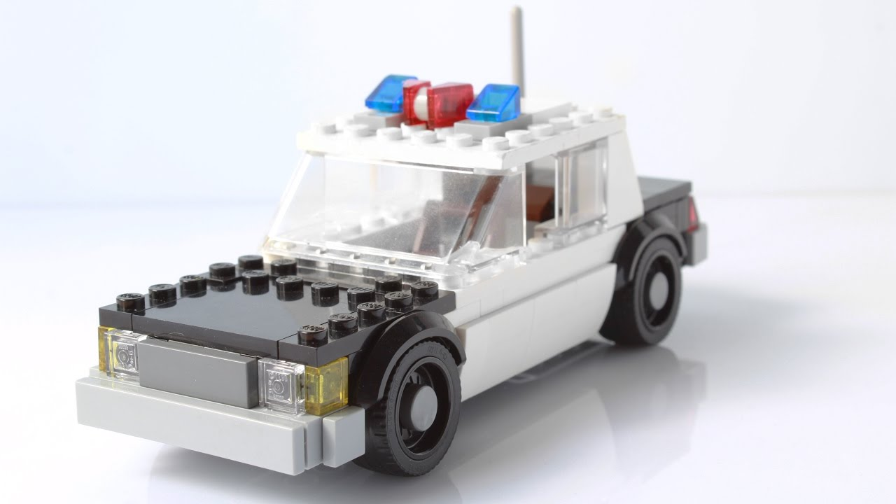 My Police Car Built With Lego A Ford Ltd Crown Victoria If You Re