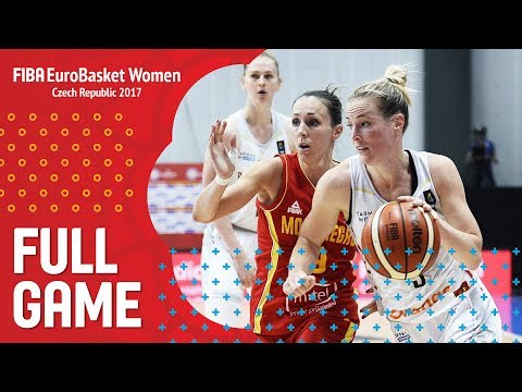 Belgium v Montenegro - Full Game - FIBA EuroBasket Women 2017