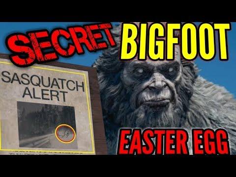 FARCRY 5 BIGFOOT SECRET LOCATION EASTER EGG!