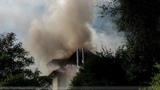 NRWspot.de | Schalksmühle – Dachstuhlbrand in der Glörstraße
