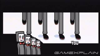 Rhythm Heaven Fever - Tap Troupe (English) Gameplay Footage (Nintendo Wii)