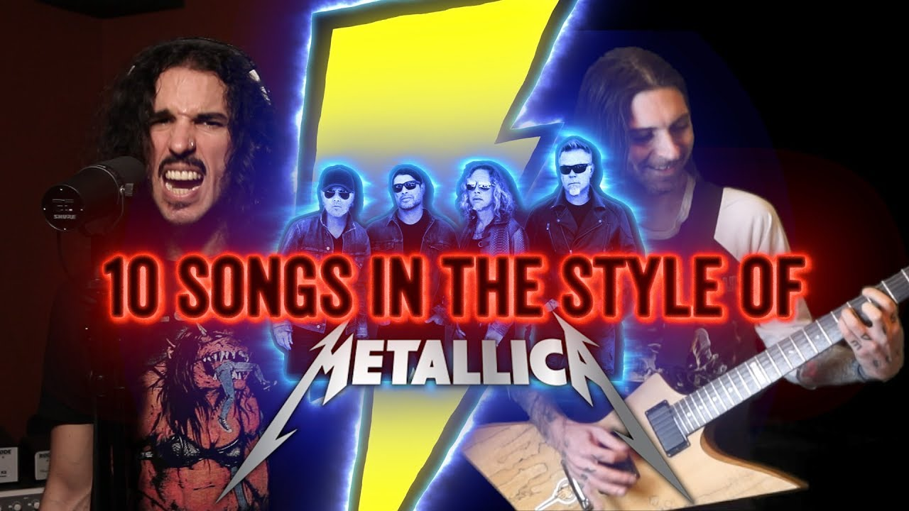 10 songs in the style of metallica feat erock - Metallica Christmas Songs