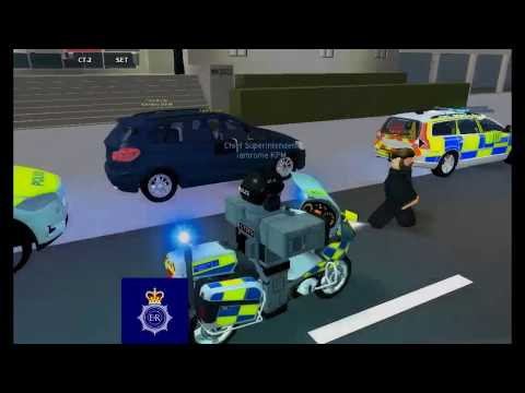 Roblox-City London-Metropolitan Police When the Prime minister visits Buckingham palace! Part-2