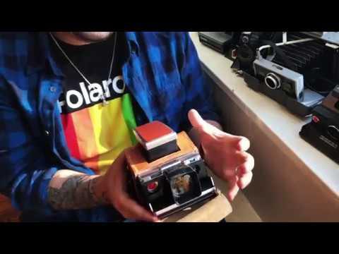 Polaroid SX70 TELE 1.5 Lens review