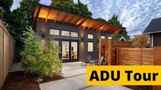 Granny Flat Home Tour | 490 square foot ADU | Tiny Home Tour w/ Maxable