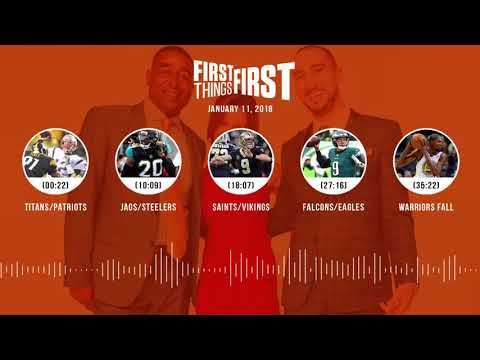 First Things First audio podcast (1.11.18)Cris Carter, Nick Wright, Jenna Wolfe | FIRST THINGS FIRST