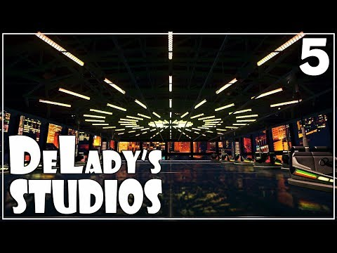 Fire station and our first ride   DeLady's Studios   Planet Coaster   Ep. 5   Studios Pack DLC