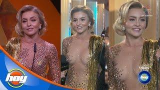 ¡Angelique Boyer sorprende en los Premios TVyNovelas 2019 con su vestido! | Hoy