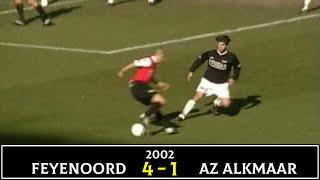 2002年3月10日 エールディヴィジ フェイエノールト vs AZ 小野伸二 22才...