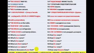 Само Репетитор Урок №1 Часть1 Англо Русский Интенсив  2 х часовый Видео Тренинг  Супер Спецметодика