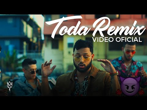 Alex Rose – Toda (Remix) Ft. Cazzu, Lenny Tavarez, Rauw Alejandro & Lyanno (Video Oficial)