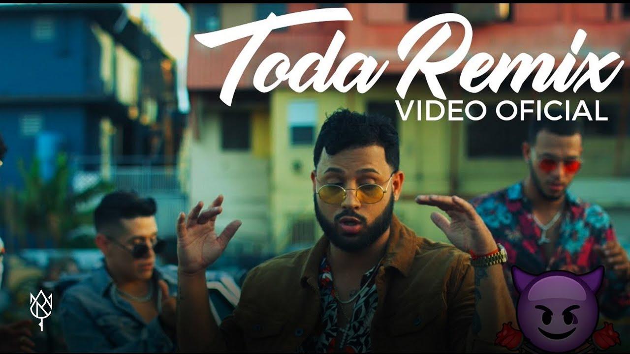 Alex Rose - Toda (Remix) Ft. Cazzu, Lenny Tavarez, Rauw Alejandro & Lyanno (Video Oficial)
