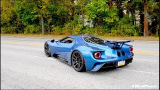*RARE* 2017 Ford GT Race Mode & Acceleration Sound On Public Roads!
