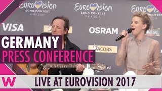 "Germany Press Conference — Levina ""Perfect Life"" Eurovision 2017 