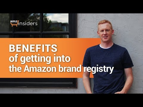 Benefits of Getting Into the Amazon Brand Registry