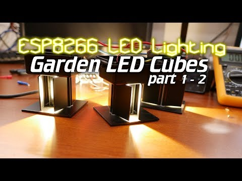 ESP8266 LED Lighting: Outdoor garden lights part 1 - 2